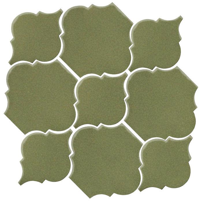 Studio Field Arabesque Pattern 5B Kelp 5615c