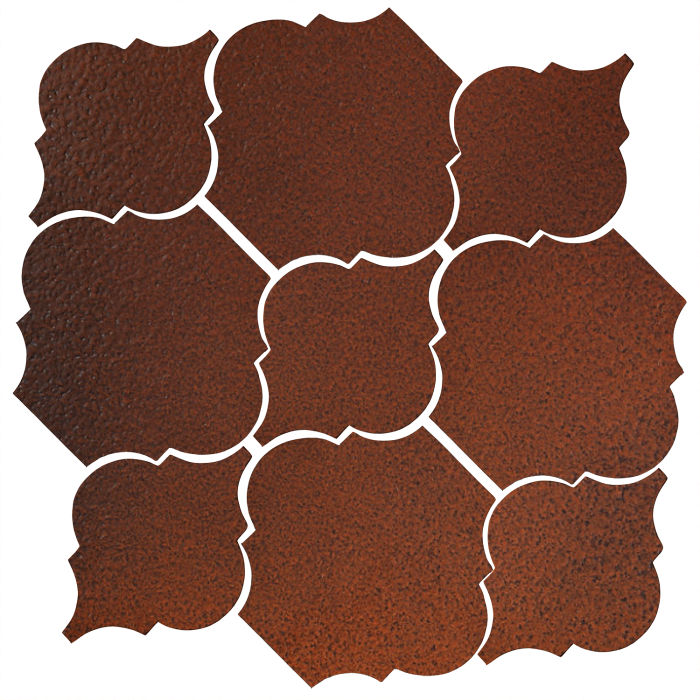 Studio Field Arabesque Pattern 5B Leather