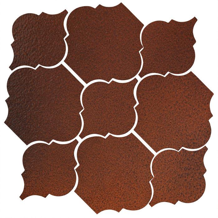 Studio Field Arabesque Pattern 5B Leather