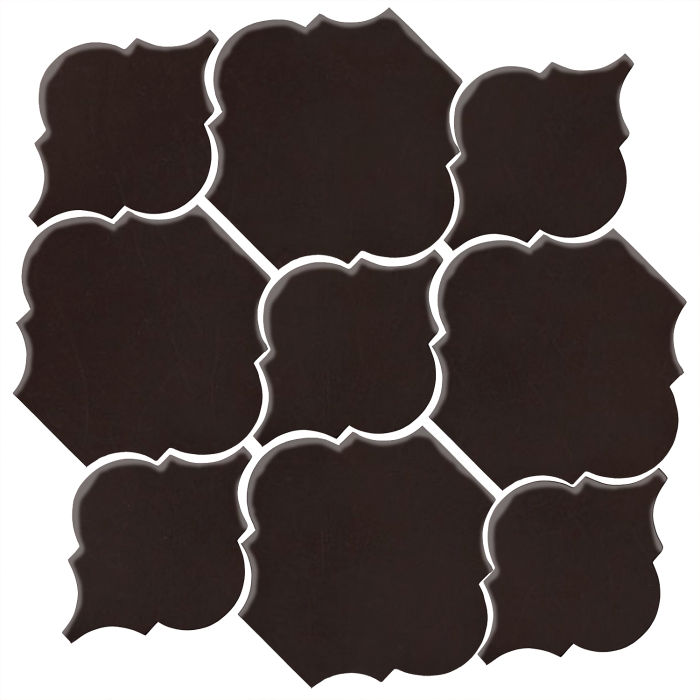 Studio Field Arabesque Pattern 5B Licorice