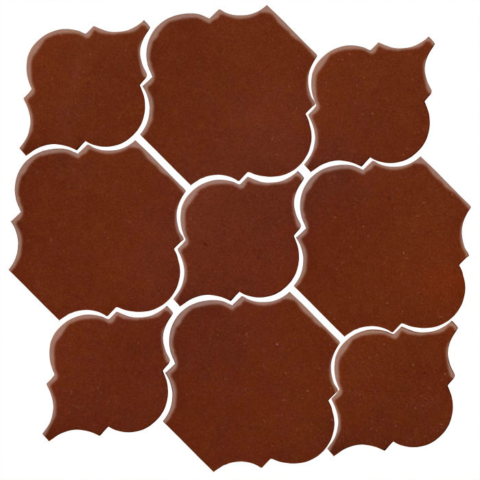 Studio Field Arabesque Pattern 5B Mocha 7581c