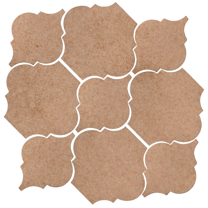 Studio Field Arabesque Pattern 5B Nut Shell 7504u