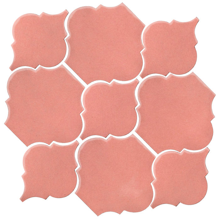 Studio Field Arabesque Pattern 5B Peach Pie