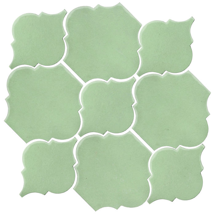 Studio Field Arabesque Pattern 5B Peppermint