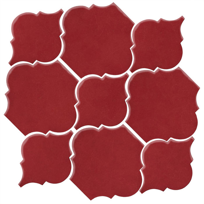 Studio Field Arabesque Pattern 5B Pinot Noir 7642c