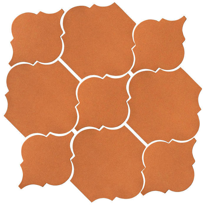 Studio Field Arabesque Pattern 5B Pottery Brown 470u