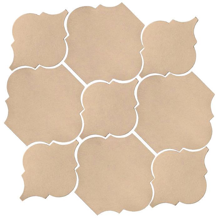 Studio Field Arabesque Pattern 5B Putty 4685c