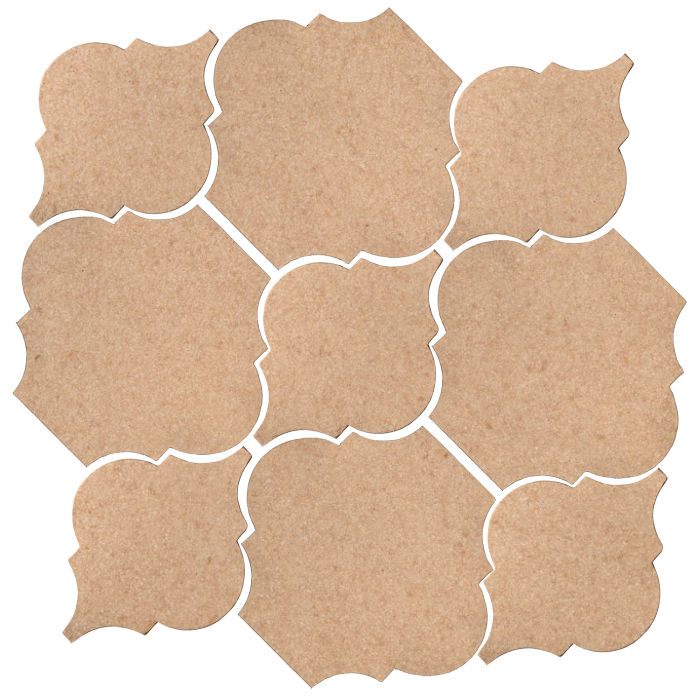 Studio Field Arabesque Pattern 5B Shiitake 466u