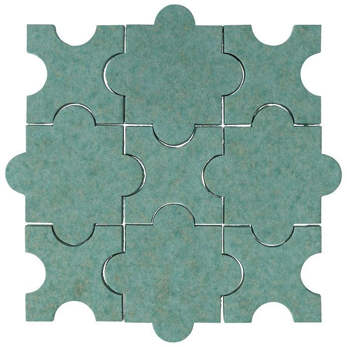Studio Field Arabesque Pattern 8A Aqua 5503u