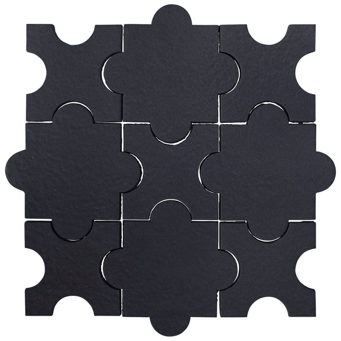Studio Field Arabesque Pattern 8A Black Diamond