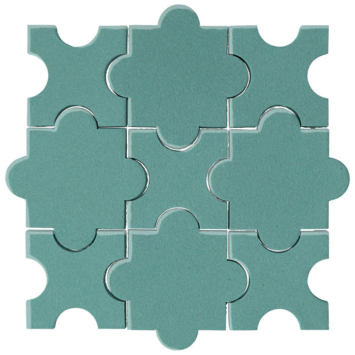 Studio Field Arabesque Pattern 8A Blue Haze 7458c