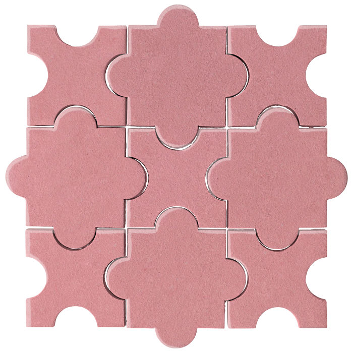 Studio Field Arabesque Pattern 8A Bubble Gum