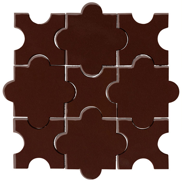 Studio Field Arabesque Pattern 8A Cordovan 476c
