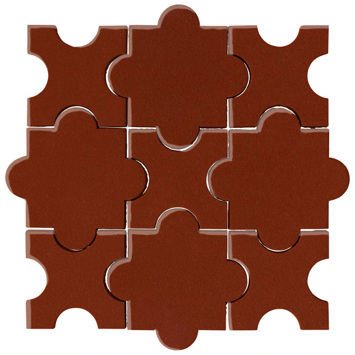 Studio Field Arabesque Pattern 8A Espresso 478c