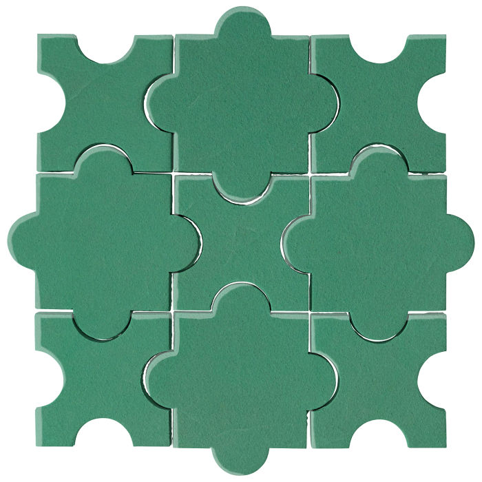 Studio Field Arabesque Pattern 8A Kale 7723c