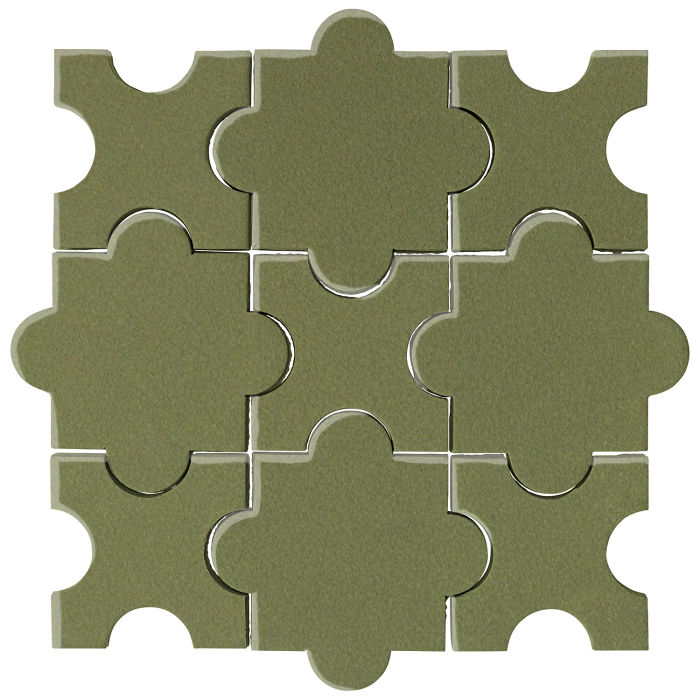 Studio Field Arabesque Pattern 8A Kelp 5615c