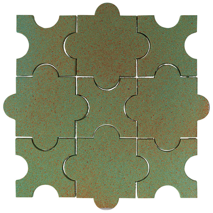 Studio Field Arabesque Pattern 8A Light Copper
