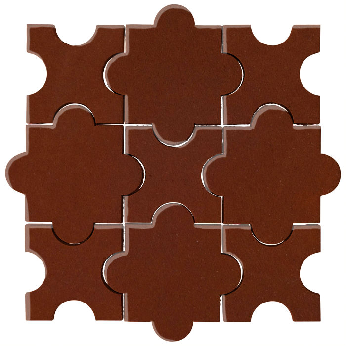 Studio Field Arabesque Pattern 8A Mocha 7581c