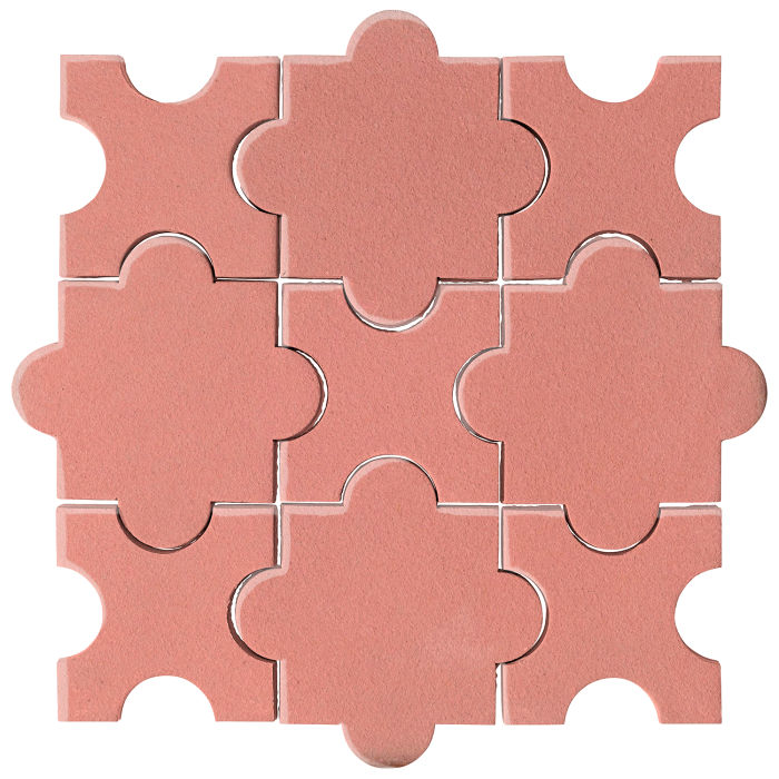 Studio Field Arabesque Pattern 8A Peach Pie