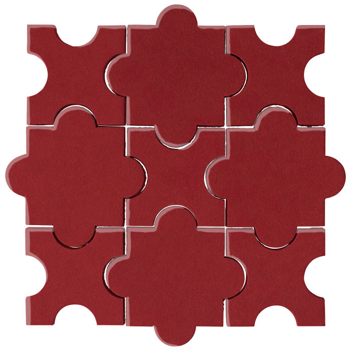 Studio Field Arabesque Pattern 8A Pinot Noir 7642c