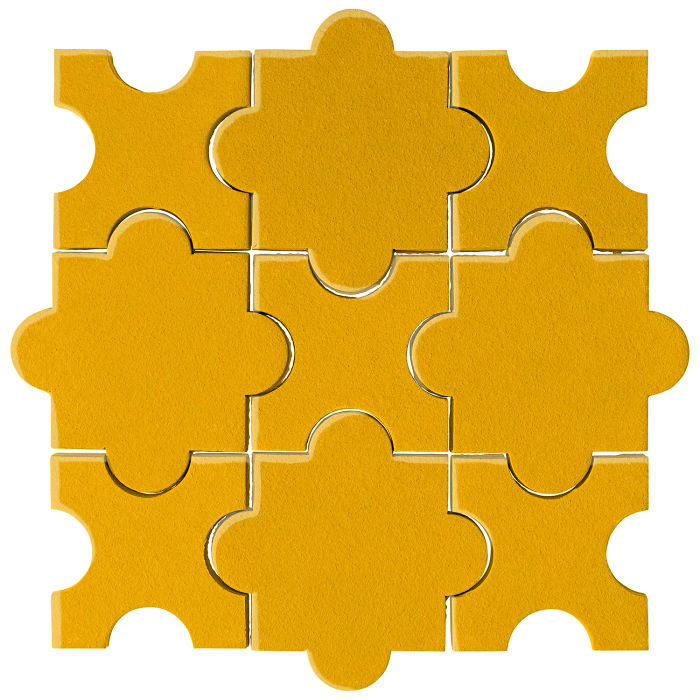 Studio Field Arabesque Pattern 8A Sunflower 1225c