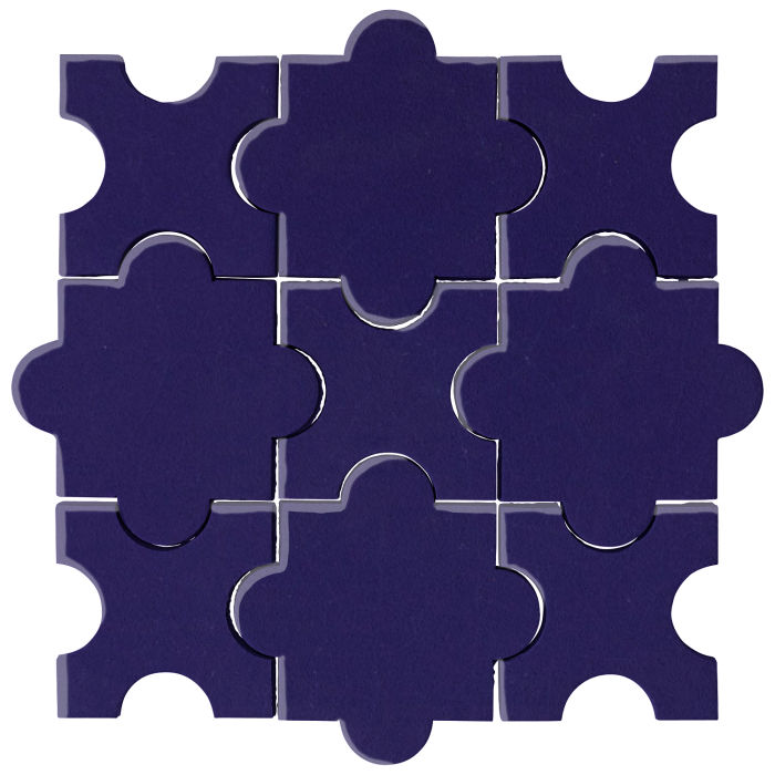 Studio Field Arabesque Pattern 8A Ultramarine 2758c