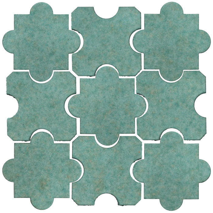 Studio Field Arabesque Pattern 8B Aqua 5503u