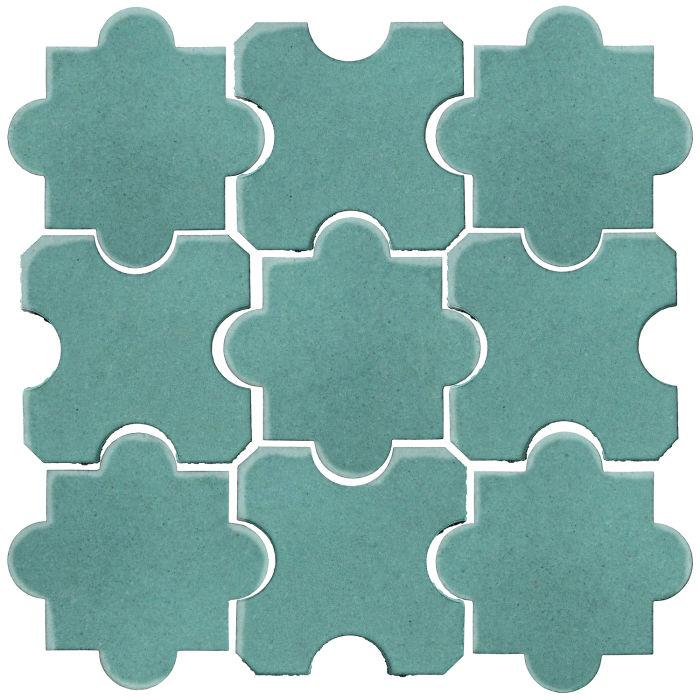 Studio Field Arabesque Pattern 8B Blue Haze 7458c