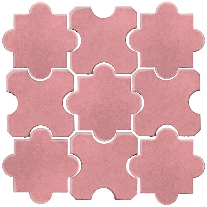Studio Field Arabesque Pattern 8B Bubble Gum