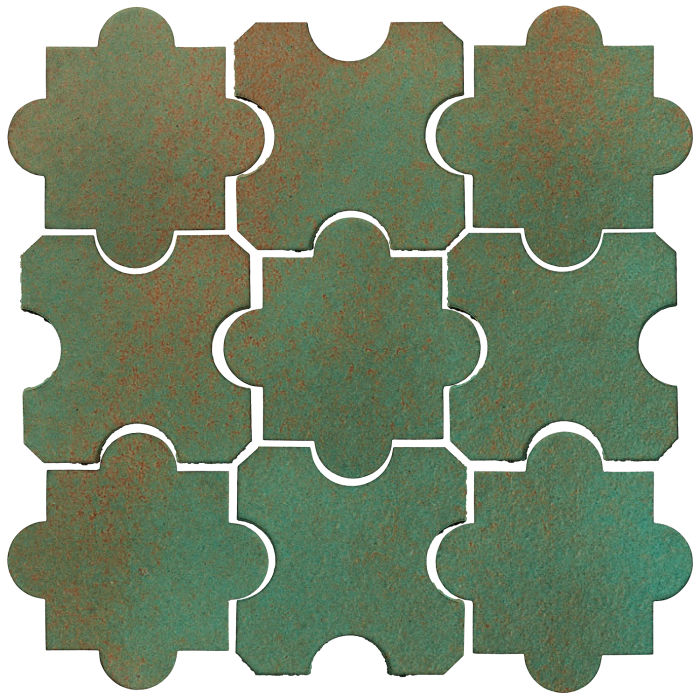 Studio Field Arabesque Pattern 8B Copper