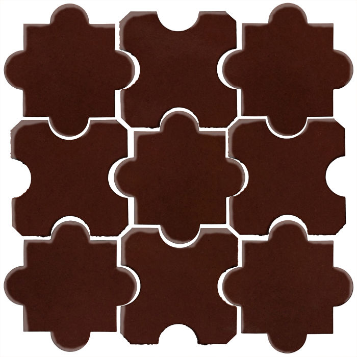 Studio Field Arabesque Pattern 8B Cordovan 476c