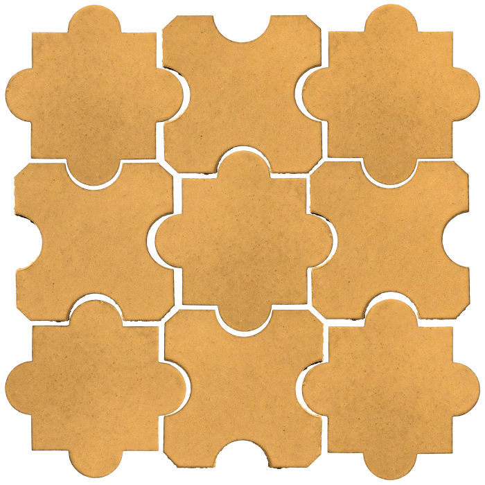 Studio Field Arabesque Pattern 8B Custard 7403u