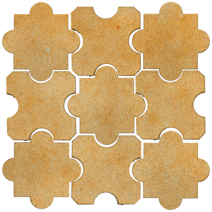 Studio Field Arabesque Pattern 8B Deli Mustard 7551u