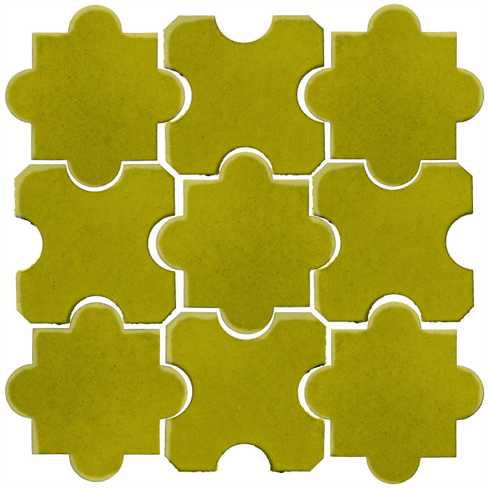 Studio Field Arabesque Pattern 8B Guacamole 7495c