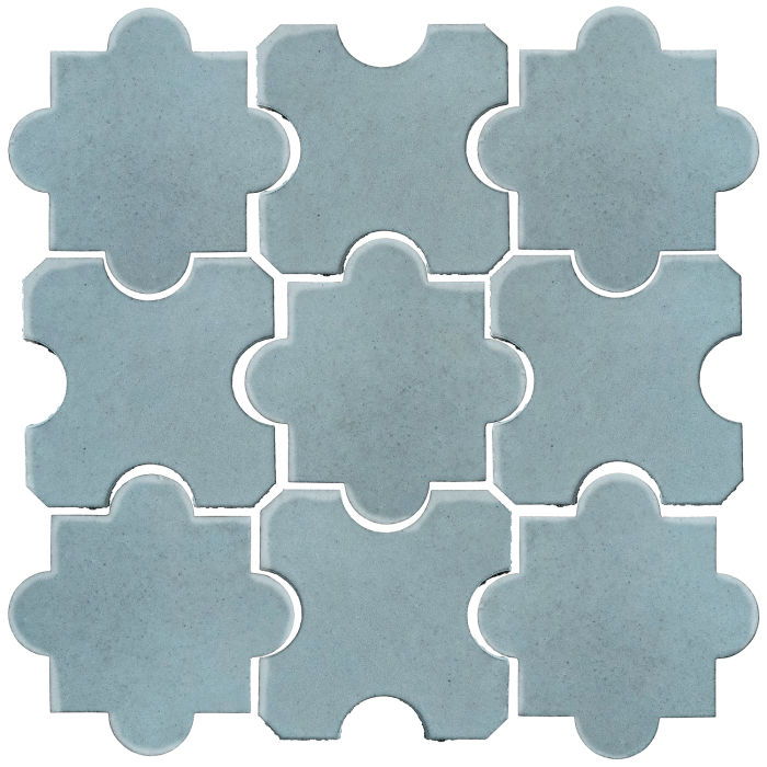 Studio Field Arabesque Pattern 8B Igloo 290c