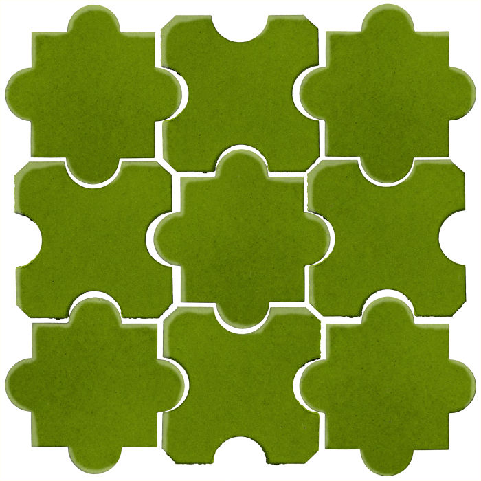 Studio Field Arabesque Pattern 8B Jalapeno 7741c