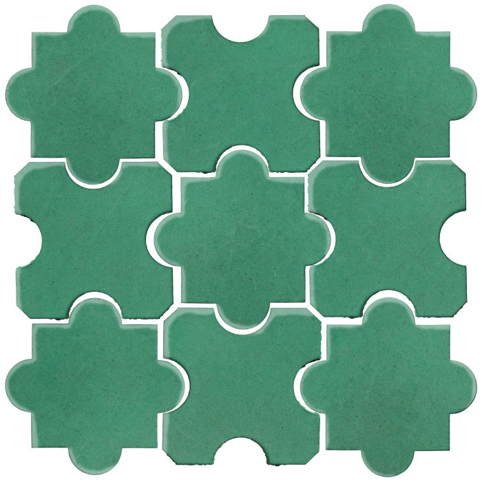Studio Field Arabesque Pattern 8B Kale 7723c