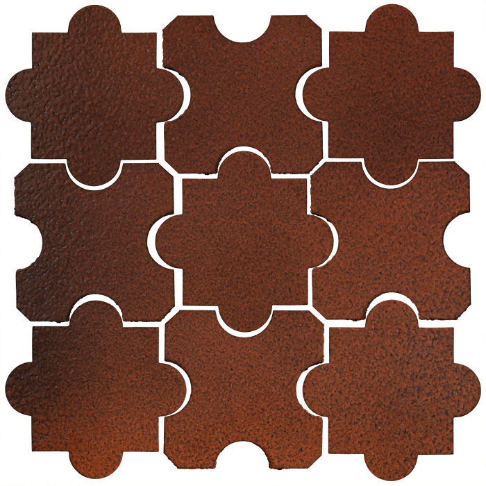 Studio Field Arabesque Pattern 8B Leather