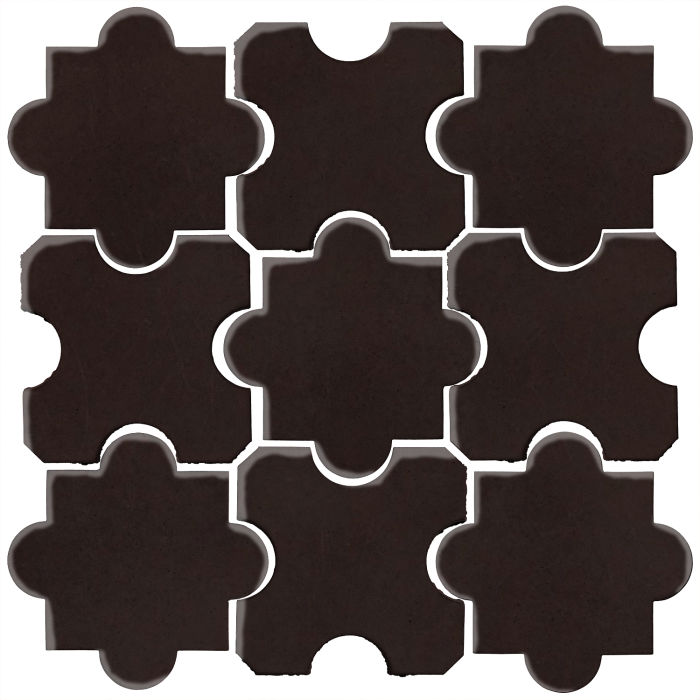Studio Field Arabesque Pattern 8B Licorice