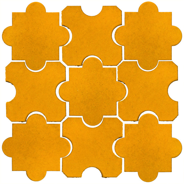 Studio Field Arabesque Pattern 8B Mandarin 129u