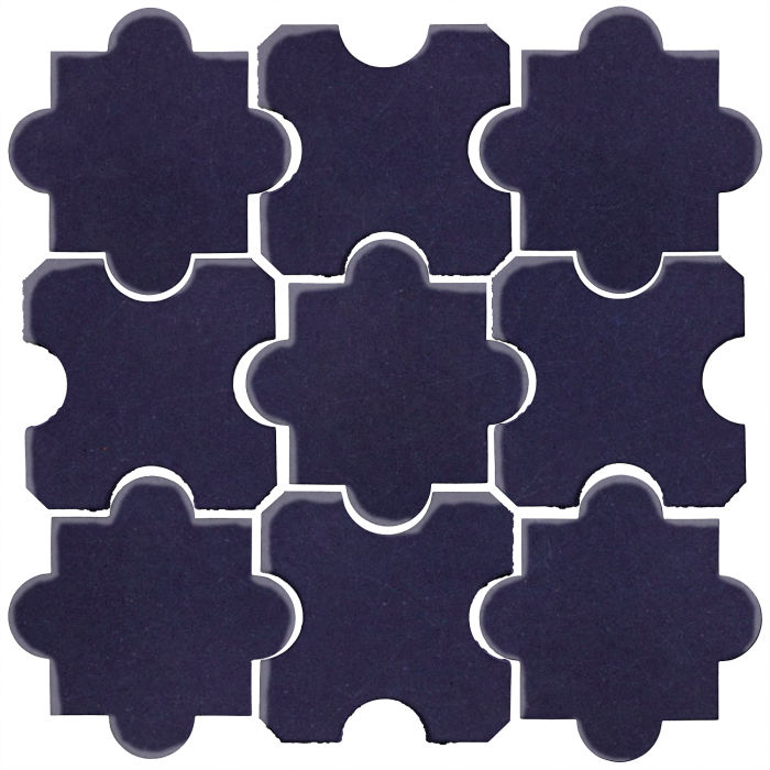 Studio Field Arabesque Pattern 8B Midnight Blue 2965c