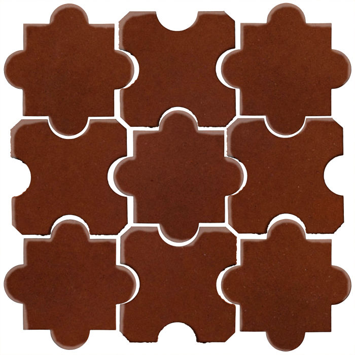 Studio Field Arabesque Pattern 8B Mocha 7581c