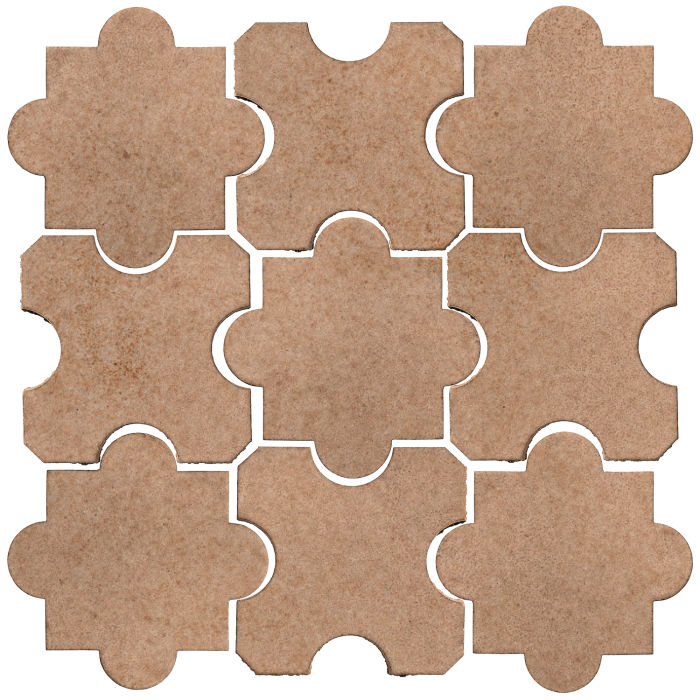 Studio Field Arabesque Pattern 8B Nut Shell 7504u