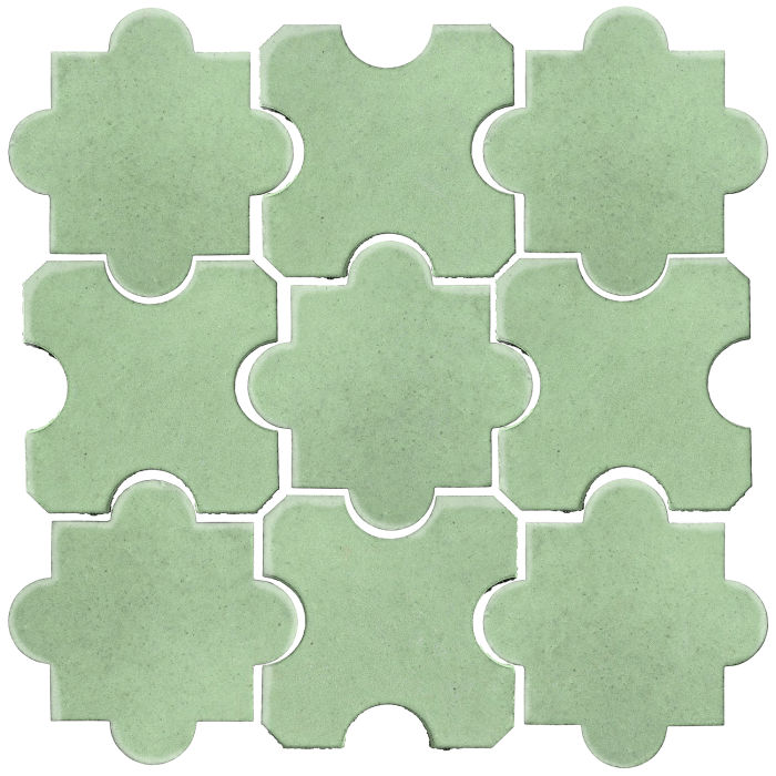 Studio Field Arabesque Pattern 8B Peppermint