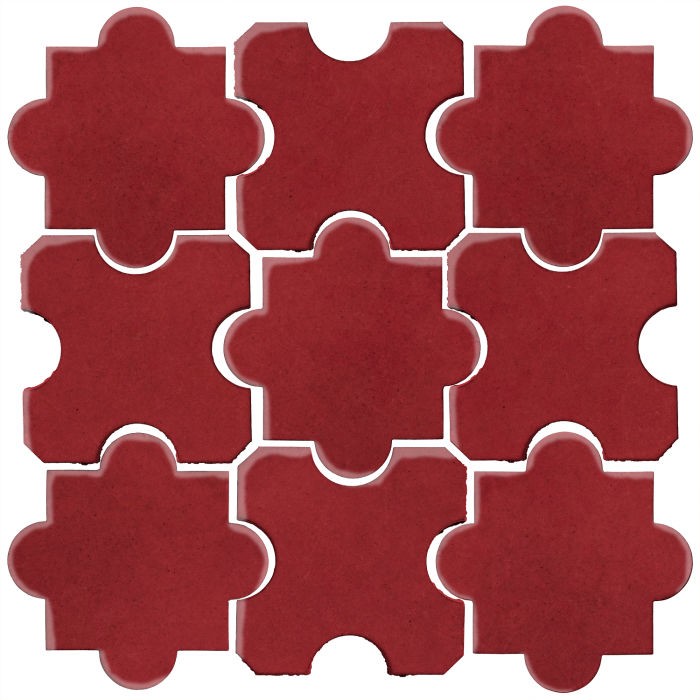 Studio Field Arabesque Pattern 8B Pinot Noir 7642c