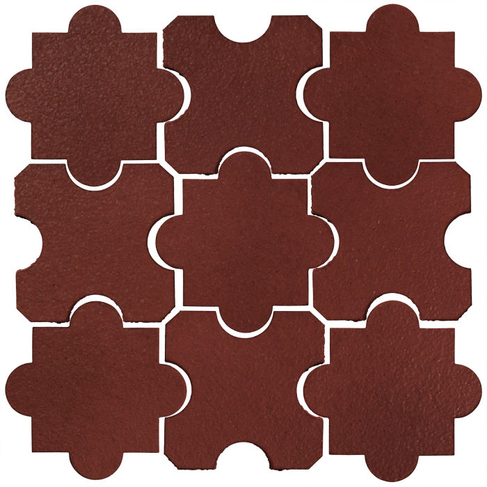 Studio Field Arabesque Pattern 8B Pueblo Red