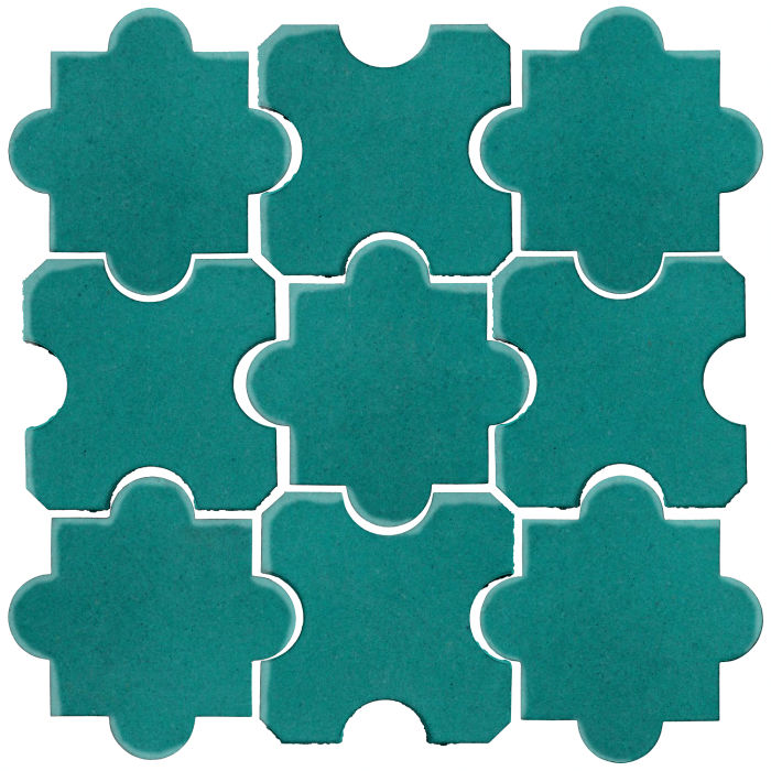 Studio Field Arabesque Pattern 8B Real Teal 5483c