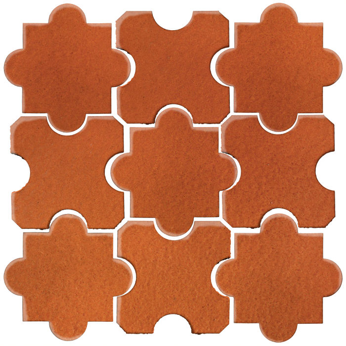 Studio Field Arabesque Pattern 8B Spanish Brown