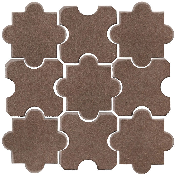 Studio Field Arabesque Pattern 8B Suede 405c