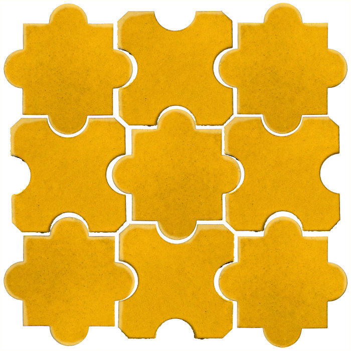 Studio Field Arabesque Pattern 8B Sunflower 1225c